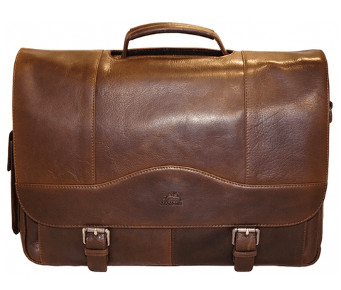 Mancini Porthole Laptop Briefcase