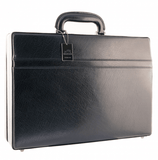 Mancini Leather Expandable Attache