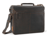 Aunts & Uncles Hunter Finn Leather Business Bag Back