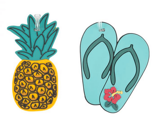 Travelon Pineapple Luggage Tags