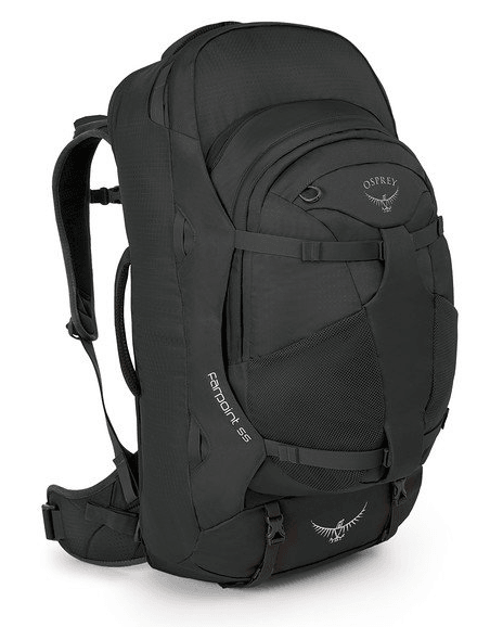 Osprey Farpoint 55L Travel Backpack Volcanic Grey