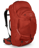 Osprey Farpoint 55L Travel Backpack Jasper Red