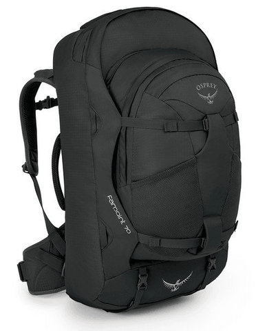 Osprey Farpoint 70L Travel Backpack Volcanic Grey