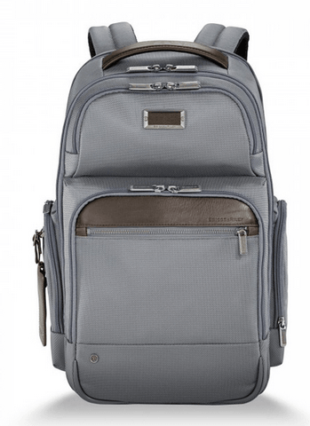 Briggs & Riley @Work Medium Cargo Backpack Grey