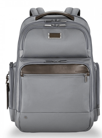 Briggs & Riley @Work Large Cargo Backpack Grey