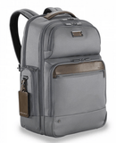 Briggs & Riley @Work Large Cargo Backpack Grey Side Front