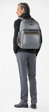 Briggs & Riley @Work Large Cargo Backpack Grey Wearing