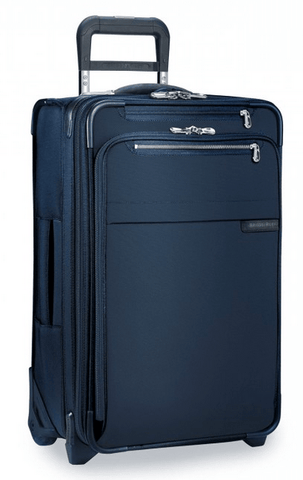 "Briggs & Riley Baseline 22"" Domestic Carry-On Expandable Upright Navy"