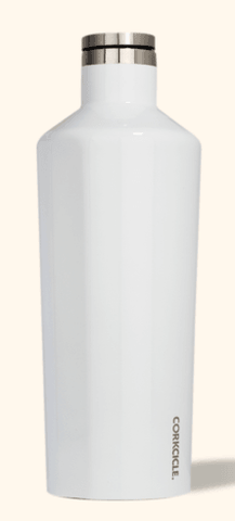 60oz gloss white corkcicle canteen