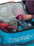 Osprey Transporter 90L Wheeled Duffle Interior Packing