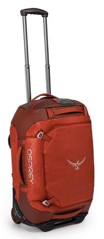 Osprey Transporter 40L Wheeled Carry-On Duffle Ruffian Red
