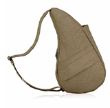 Ameribag X-Small Distressed Nylon Healthy Back Bag Taupe