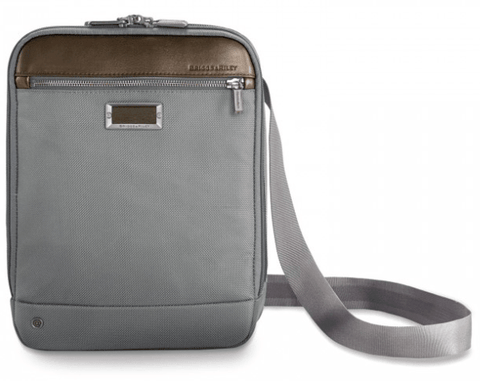 Briggs & Riley @Work Small Expandable Cross Body Grey
