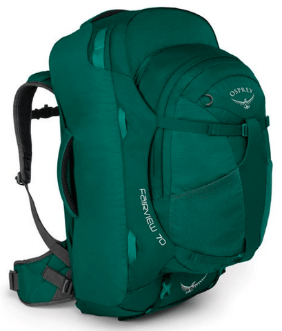 Osprey Fairview 70L Women's Travel Backpack Rainforest Green