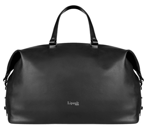 Lipault Leather Weekend Bag