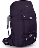 Osprey Fairview Trek 70L Women's Travel Backpack Amulet Purple