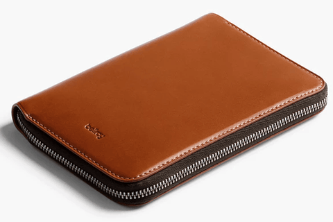 Bellroy Zip Up Leather Travel Folio