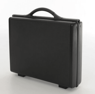 "Samsonite Focus 3 4"" Attache Case"