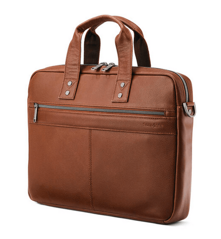 Samsonite Classic Leather Slim Brief