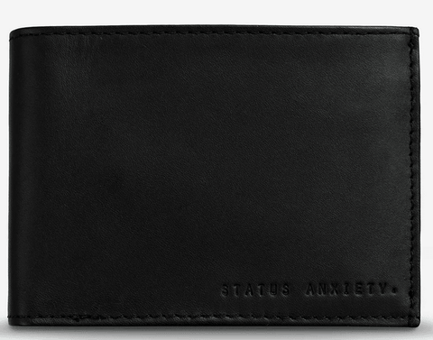 Status Anxiety Noah Tri-Fold Leather Wallet