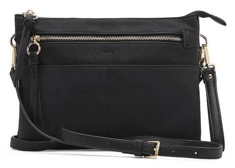 Co-Lab Suede Clutch Crossbody