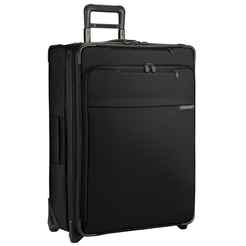 "Briggs & Riley Baseline 25"" Medium Expandable Upright Checked Luggage Black"