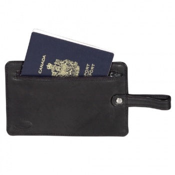 Derek Alexander Anti-Theft Passport Loop Wallet