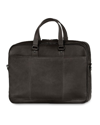 Mancini Laptop Briefcase with three compartments