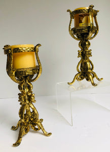 Ornate Candle Pair - Buttertherapy.com