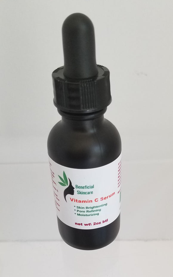 Vitamin C Skin Brightening Serum 1oz btl - Buttertherapy.com