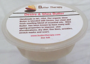 Desire & Shea Butter Blend 2oz Tub - Buttertherapy.com
