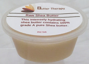 Ghana Shea Butter (Raw) 2oz Tub - Buttertherapy.com