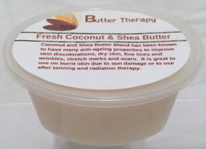 Fresh Coconut & Shea Butter Blend 2oz Tub - Buttertherapy.com