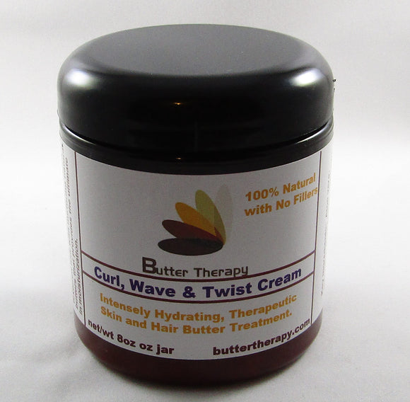 Curl, Wave & Twist Cream 8oz jar - Buttertherapy.com