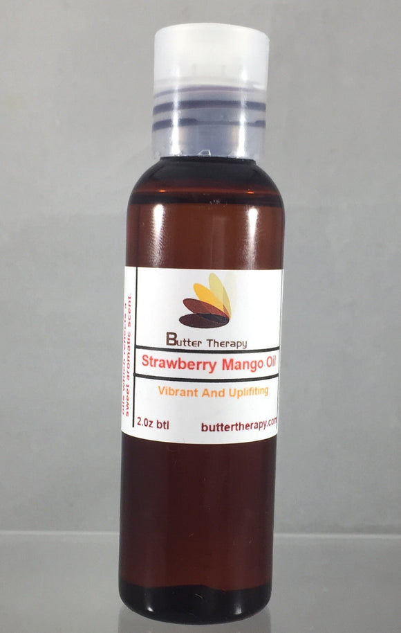Strawberry Mango Essential Oil 2oz Btl - Buttertherapy.com