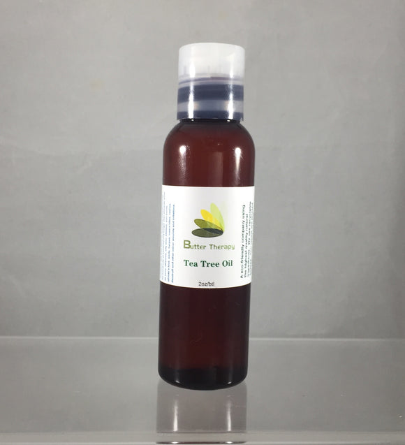 Tea Tree Essential Oil 2oz Btl - Buttertherapy.com