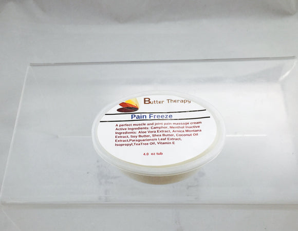 Pain Freeze 2oz Tub - Buttertherapy.com