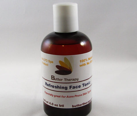 Refreshing Face Tonic 4oz Btl - Buttertherapy.com
