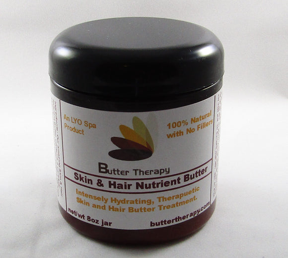 Skin & Hair Nutrient Butter 8oz Jar - Buttertherapy.com