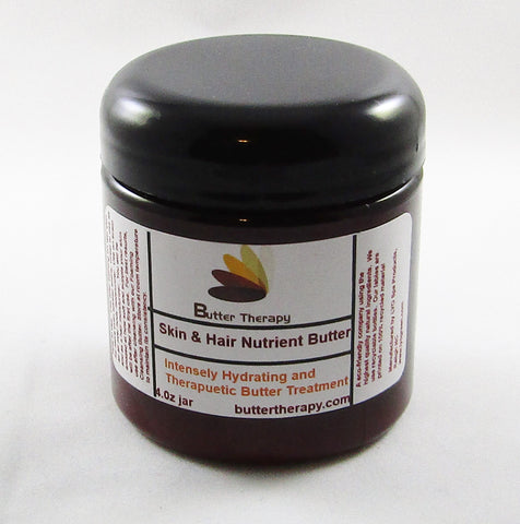 Skin & Hair Nutrient Butter 4oz Jar - Buttertherapy.com