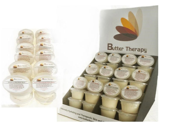 Wholesale Starter Kit plus 1 shelf refill of Travel Sized 72/ 2.oz  Shea Butters - Buttertherapy.com