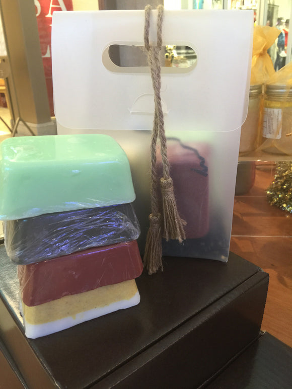 The Ultimate Soap Set (4) 5.6oz Bars - Buttertherapy.com