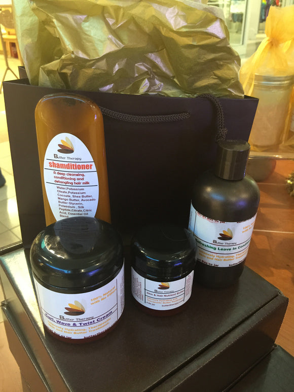 Natural Hair Care Set - Buttertherapy.com