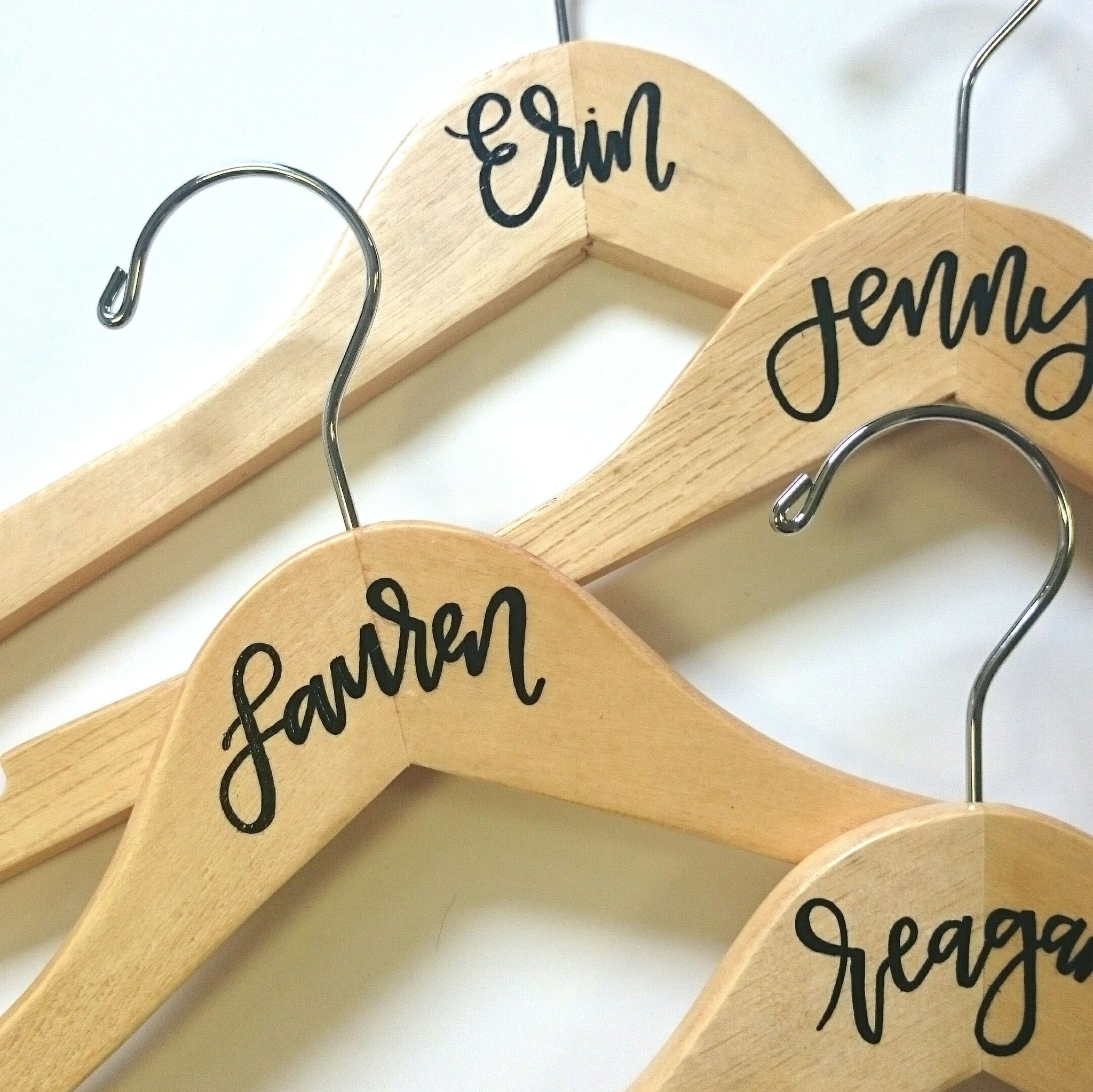 Personalized Calligraphy Hangers
