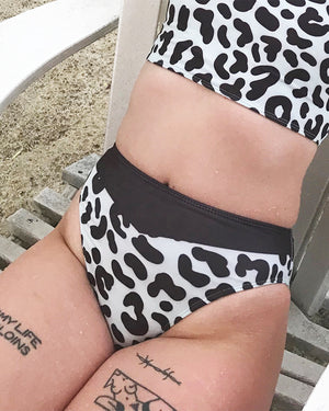 Leopard swimsuit - bottom
