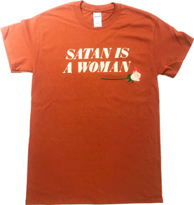 Satan is a Woman t-shirt