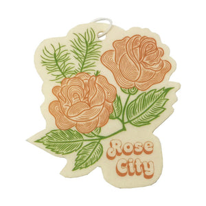 Rose City air freshener