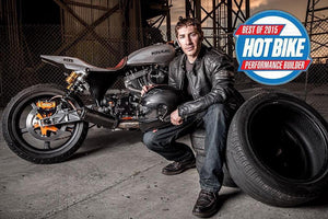 Satya Kraus awarded Hot Bike Best of 2015 Performance Builder