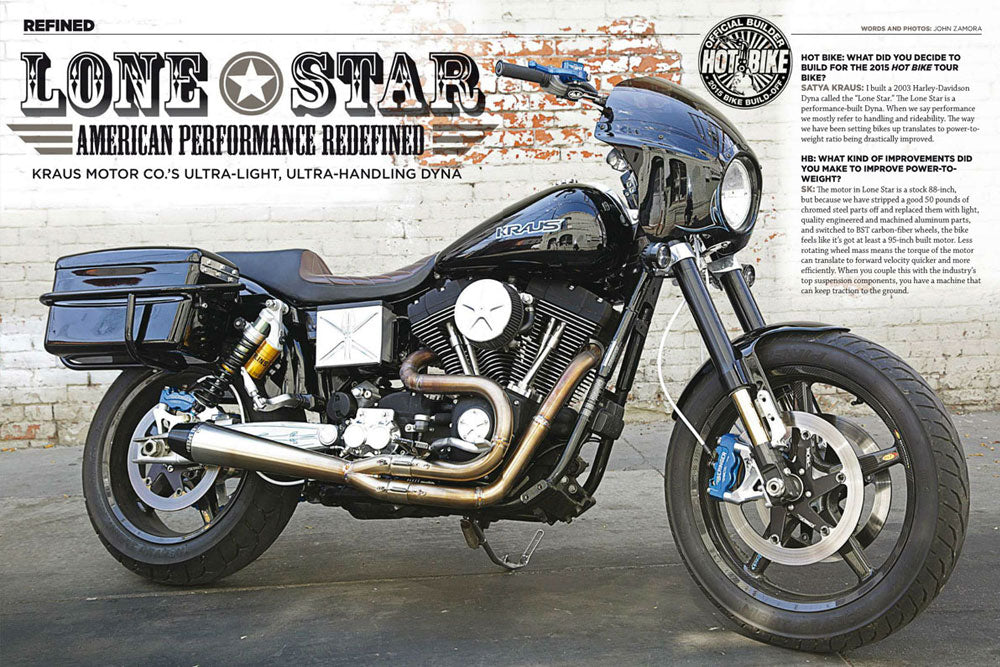 Kraus Motor Co.'s Ultra-light, Ultra-handling Dyna