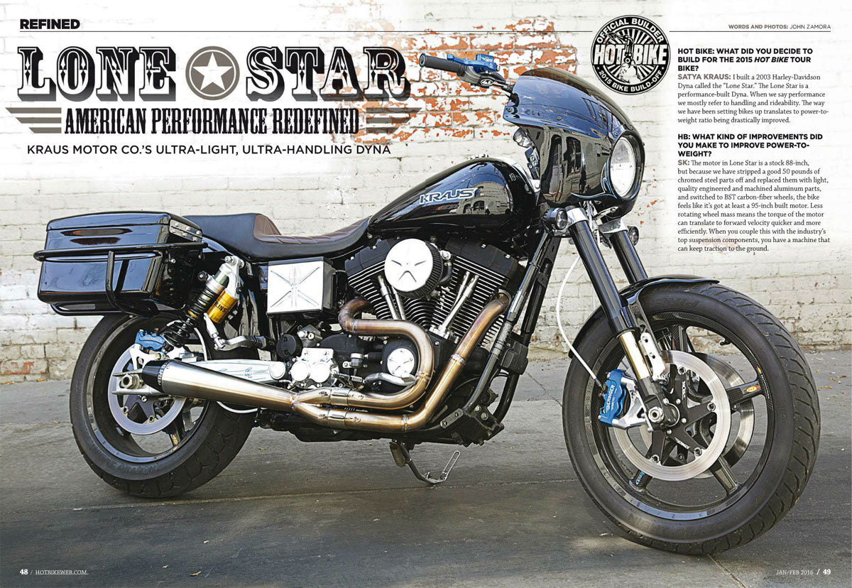 Lone Star - American Performance Redefined